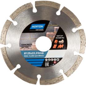 Диск алмазный по бетону Norton, 125х22.2 мм