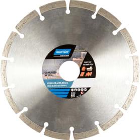Диск алмазный по бетону Norton, 180х22.2 мм