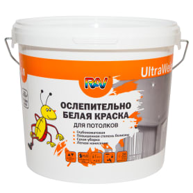 Краска для потолков UltraWeiss цвет белый 5 л