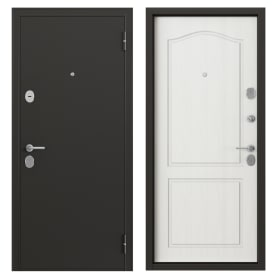 Дверь металлическая Гарант, 960 мм, правая, цвет антик ларче