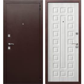Дверь входная металлическая Йошкар, 960 мм, правая, цвет белый ясень