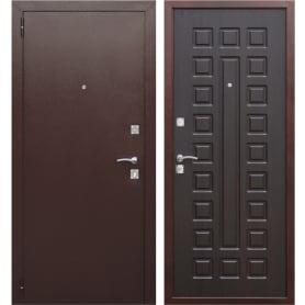 Дверь входная металлическая Йошкар РФ, 860 мм, левая, цвет венге