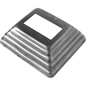 Крышка нижняя под трубу 85х75х30 мм, сталь
