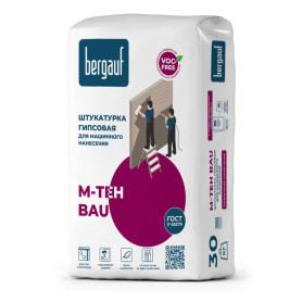 Штукатурка гипсовая Bergauf M-Teh Bau 30 кг