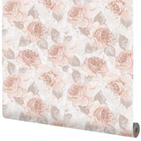 Обои флизелиновые Розы розовые 0.53 м 70105-450