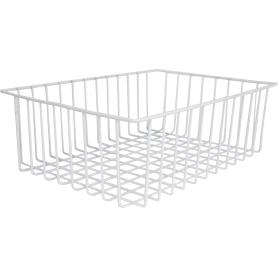 Корзина-органайзер для ящика, 33х25х9 см, цвет белый
