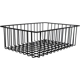 Корзина-органайзер для ящика, 33х25х9 см, цвет чёрный