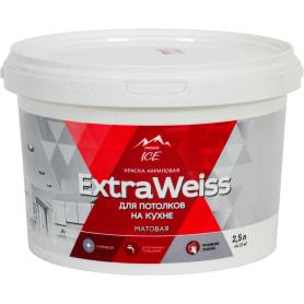 Краска для потолков Parade DYI ExtraWeiss цвет белый 2.5 л