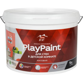 Краска для стен Parade DIY 7 PlayPaint база A 9 л