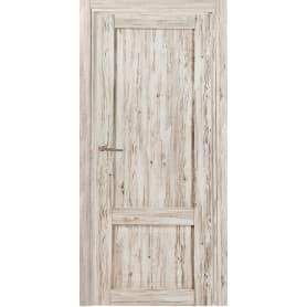 Дверь межкомнатная Рустик глухая ПВХ цвет северная сосна 80x200 см