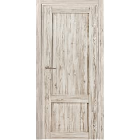 Дверь межкомнатная Рустик глухая ПВХ цвет северная сосна 90x200 см