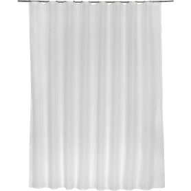 Тюль на ленте Elena, 300x280 см, полоски, цвет белый
