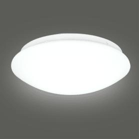 Светильник настенно-потолочный светодиодный «Элемент», 5 м², холодный белый свет, цвет белый