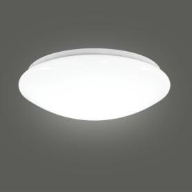 Светильник настенно-потолочный светодиодный «Элемент», 7 м², холодный белый свет, цвет белый