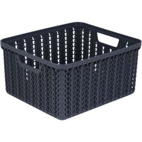 Коробка для хранения «Вязание», 1.5 л, цвет графит