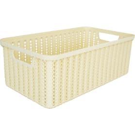 Коробка для хранения «Вязание», 6 л, цвет слоновая кость