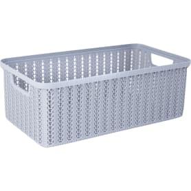 Коробка для хранения «Вязание», 6 л, цвет серый