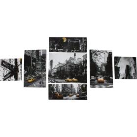 Модульная картина «Жёлтое такси» 80х110 см