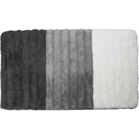 Коврик для ванной комнаты Elly 60х100 см цвет серый