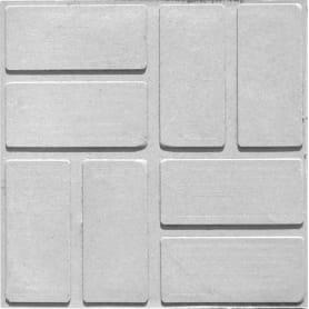 Плитка тротуарная, 250х250х200 мм, цвет серый