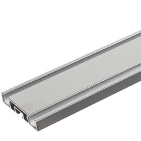 Карниз двухрядный «Atlant», 200 см, алюминий, цвет серебро