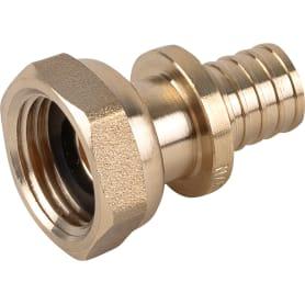 """Муфта аксиальная ProAqua с накидной гайкой, внутренняя резьба, 1/2""""х16 мм, латунь"""