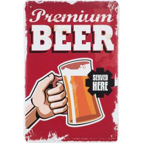 Табличка «Premium Beer», 20х30 см