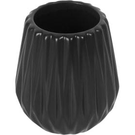 Стакан для зубных щёток Chicago керамика цвет чёрный