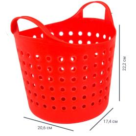 Корзинка Soft 4.1 л, цвет красный