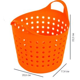 Корзинка Soft 4.1 л, цвет мандарин