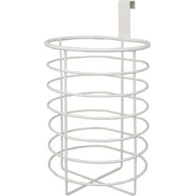 Органайзер для туалетной бумаги Ferro 2 рулона, сталь, цвет белый