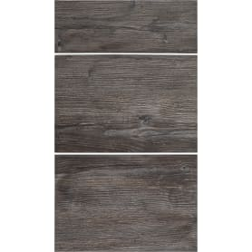 Двери для шкафа Delinia «Сосна лофт» 40x70 см, ЛДСП, цвет чёрный, 3 шт.