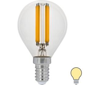 Лампа Filament Шар E14 11W 720lm 2700K