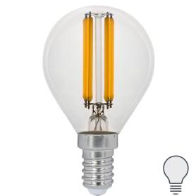 Лампа Filament Шар E14 11W 750lm 4100K