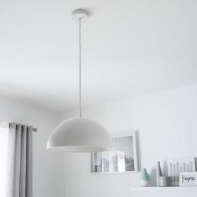 Светильник подвесной «Cedar», 1 лампа, 3 м², цвет белый матовый