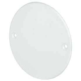 Крышка для подрозетника IEK с заземлением цвет белый
