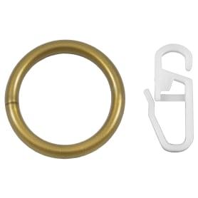 Кольцо, пластик, цвет золото, 2 см, 10 шт.