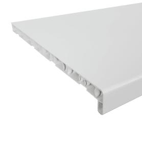 Подоконник ПВХ 1500х400 мм, цвет белый