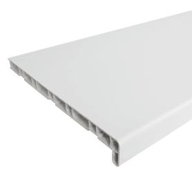 Подоконник ПВХ 2000х300 мм, цвет белый