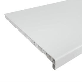 Подоконник ПВХ 2000х400 мм, цвет белый