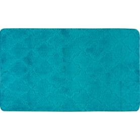 Коврик для ванной «Лана» 70х120 см цвет бирюзовый