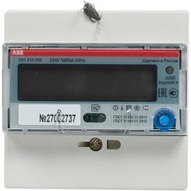 Счётчик ABB E31 412-200 5-80А, однофазный