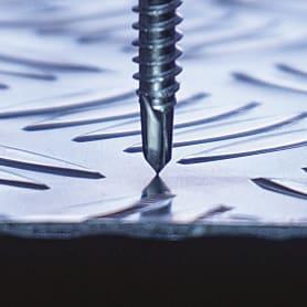 Саморезы для тонких пластин Standers с буром оцинкованные 4.2x13 мм, на вес