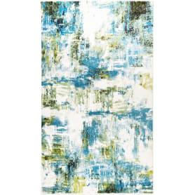 Ковёр «Bright» L016, 1.5x2.3 м, цвет голубой