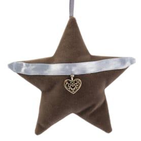 Украшение ёлочное «Звезда», 9 см, металл