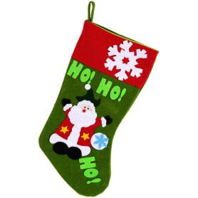 Украшение новогоднее «Носок с Дедом Морозом»