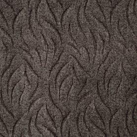 Ковровое покрытие Скролл «Ветерок 95», 3 м, цвет шоколадный