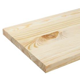 Мебельный щит 800х200х18 мм сосна, сорт АВ