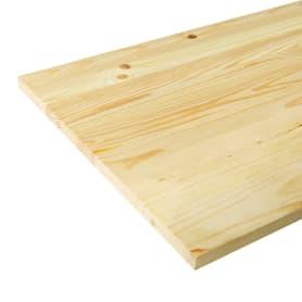 Мебельный щит 2400х400х18 мм сосна, сорт АВ