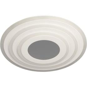 Люстра потолочная светодиодная Cliff 120 Вт, 23 м², регулируемый свет, цвет белый